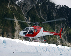 Helicopter Evacuation Off of a Glacier